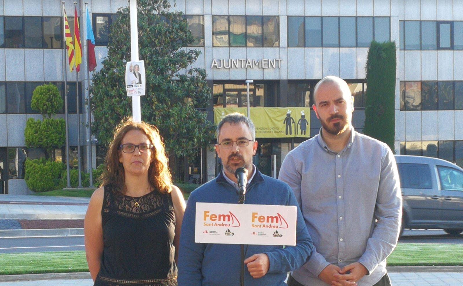 Fem Sant Andreu - Transparència